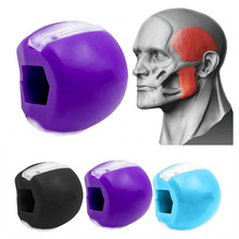 JawLine Exercise Ball Food-grade Silica Gel Facial Muscle Training Fitness Ball jaw,face,neck exerciser Jaw Muscle Training ball