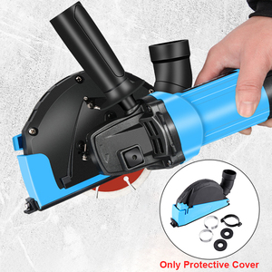 Image 2 - Universal Surface Cutting Dust Shroud For Angle Grinder 4 Inch to 5 Inch Dust Collector Attachment Cover Tool New