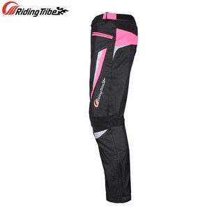 Image 4 - Women Motorcycle Jacket Pants Summer Ladies Riding Raincoat Safety Suit with 9pcs Protective Gears and Waterproof Lining JK 52