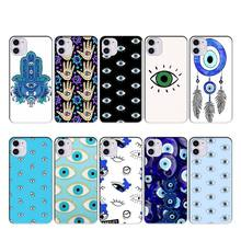 Wumeiyuan Evil Eyecase coque fundas for iphone 11 PRO MAX X XS XR 4S 5S 6S 7 8 PLUS SE 2020 cases cover