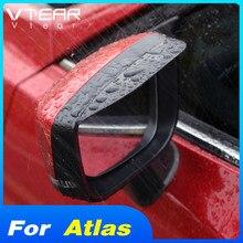 Vtear for Geely Atlas Emgrand NL-3 Proton X70 car rear view mirror sticker rain eyebrow auto side shiled guard accessories cover