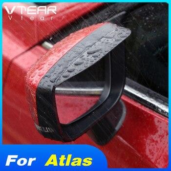 Vtear-pegatina para espejo retrovisor de coche Emgrand Geely Atlas Proton X70, pegatina para lluvia, cejas, accesorios de protección lateral para coche