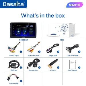 "Image 5 - Dasaita 1 Din Android 10.0 TDA7850 10.2"" IPS Universal Car Radio Nissan Toyota Auto Stereo GPS Navigation Carplay 4G 64G BT 5.0"