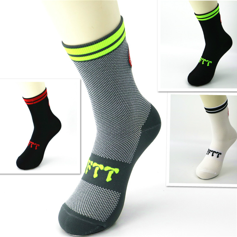 Men Cycling Socks Breathable Basketball Running Football Sports Socks 2019 New Design Socks
