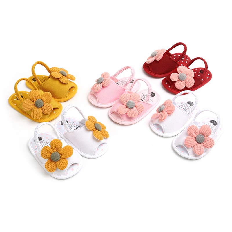 2020 Newst Summer Baby Boys Girls Sandals Cute Flower Breathable Anti-Slip Shoe Toddler Soft Soled First Walkers Casual Shoes
