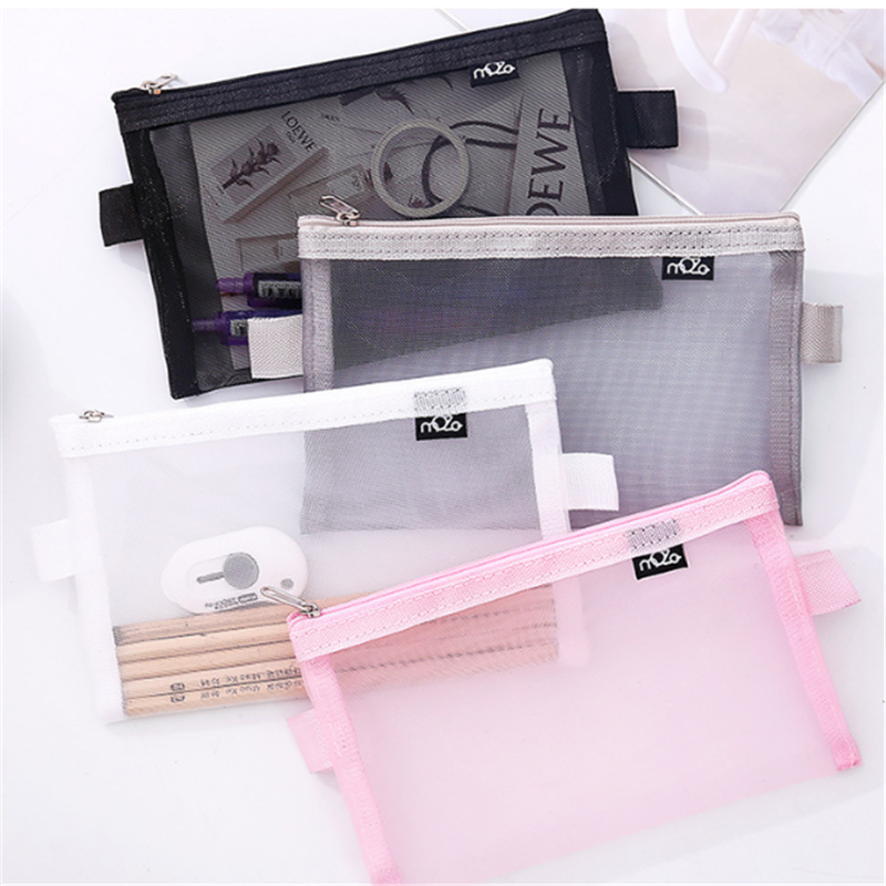 VOGVIGO Travel Cosmetic Bag Women Zipper Make Up Transparent Makeup Case Organizer Storage Pouch Toiletry Beauty Wash Kit Bags