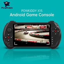 Powkiddy-وحدة تحكم ألعاب فيديو محمولة X15 ، android ، شاشة 5.5 بوصة 1280*720 ، MTK8163 ، رباعي النواة ، 2 جيجا رام ، 32 جيجا روم