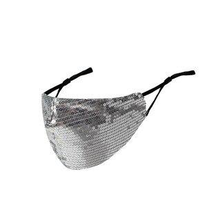 Image 2 - Nieuwe Shiny Rhinestone Kwastje Masker Decoratie Gezicht Accessoires Cover Gezicht Sieraden Voor Vrouwen Bruiloft Nachtclub Decoratie