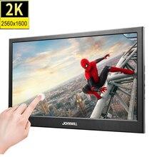 10,1 дюймов 2K 2560*1600 ips сенсорный экран портативный игровой монитор светодиодный ЖК-дисплей PS3/4 Xbox360 планшет дисплей для Windows 7 8 10