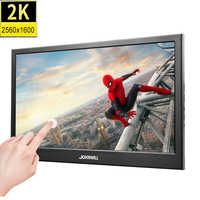 10,1 zoll 2K 2560*1600 IPS Touch Screen Tragbare Gaming Monitor LED LCD Displays PS3/4 Xbox360 tablet Display für Windows 7 8 10