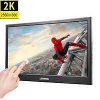 Pantalla táctil de 10,1 pulgadas 2K 2560*1600 IPS Monitor de juegos portátil pantalla LCD LED PS3/4 Xbox360 pantalla de tableta para Windows 7 8 10