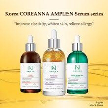 Soro do ácido hialurônico do colágeno do peptide para a cara o soro coreano do alvejante da pele da umidade visage peptides faciais essência anti enrugamento