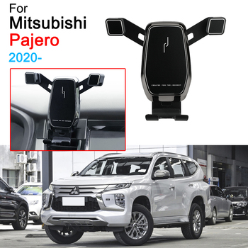 Car Phone Holder Support GPS Stand Phone Holder for Mitsubishi Pajero Accessories 2020 image
