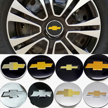 4 pçs/set 53/58/59/64/83 milímetros de Carro Do Centro de Roda Hub Caps Capa Para Chevy Silverado V8 Cruze Equinócio Sail Captiva Faísca Accessorie