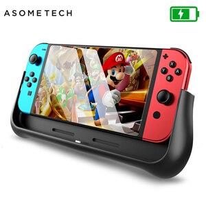 Image 1 - Funda de batería de 10000mAh para consola Nintendo Switch, con soporte, Cargador rápido, batería externa para Nintendo Switch NS NX