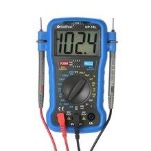 kkmoon Digital LCR Meter LCD Multimeter Resistance Capacitance Inductance Transistor hFE Test capacimetro Tester + Wrist Strap vici vc6243 high precision digital capacitance meter lcr tester inductance meter 0 2000uf