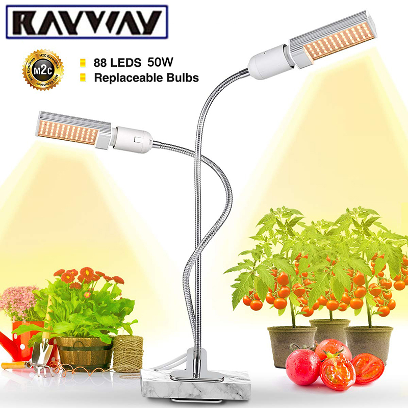 Sunlike LED Plant Grow Light 50W 88LED Full Spectrum Phytolamp Flower Lamp For Indoor Potted Vegetable Seedling Growth