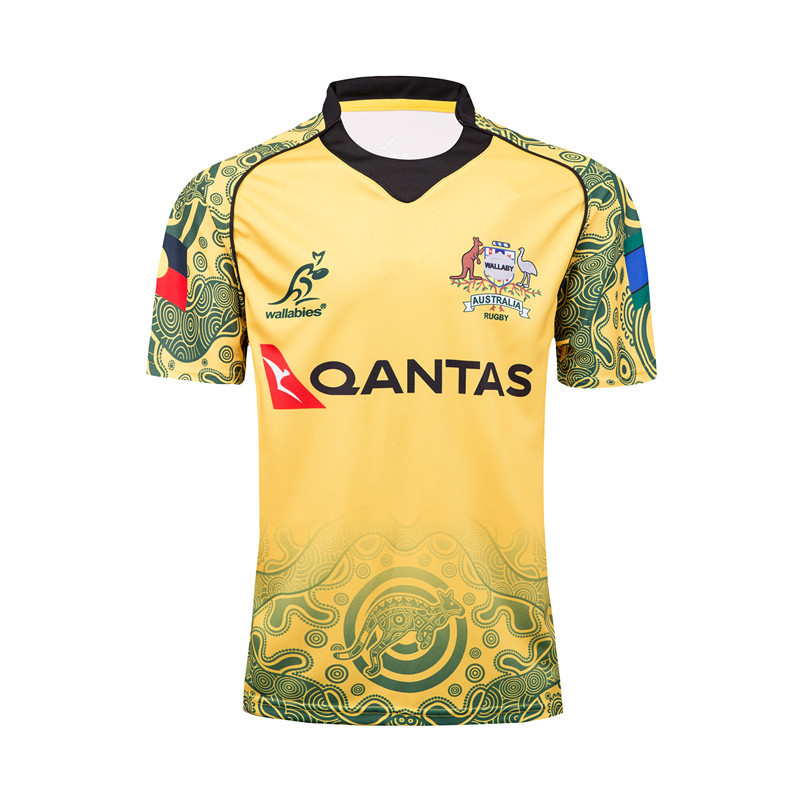 17-18 Sweat Absorbing Breathable Australia Commemorative Edition Olive Jersey Australia Rugby Jersey