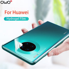 Full Cover Hydrogel Film For Huawei P20 P30 Mate 10 20 30 Lite Pro screen protector For Huawei P smart 2019 2018 Z film No Glass(China)