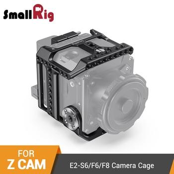 цена на SmallRig DSLR Cage for Z CAM E2-S6/F6/F8 Camera Cage With NATO Rail/Integrated ARRI Rosette/HDMI&USB-C Cable Clamp Cage Kit-2423