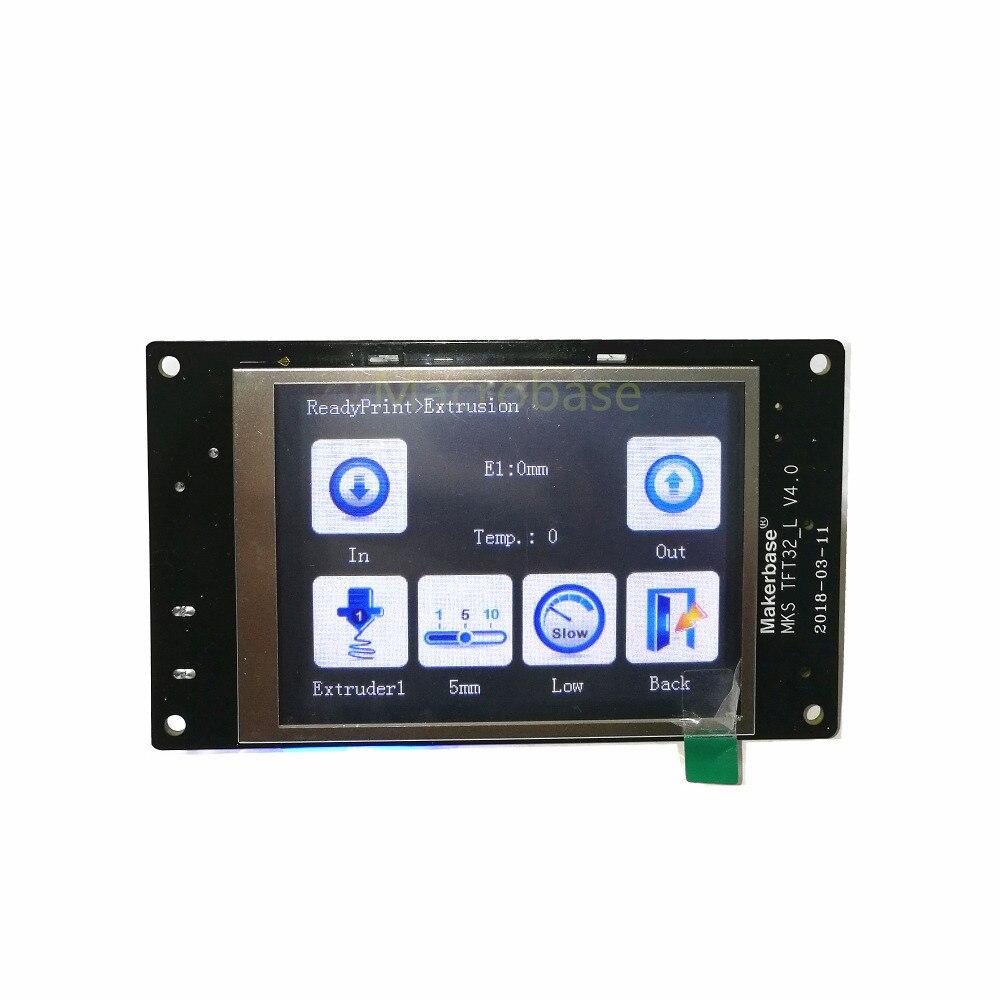 3d printer DIY full kits MKS GEN L + MKS TFT 3.2 touch screen + MKS PWC V2.0 auto power off sensor + MKS TFT WIFI smart control - 2