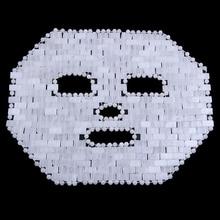 White Jade Face Mask Jade Roller Guasha Board Set Natural Stone Gouache Scraper Eye Massager Jade Mask Facial Massager Set