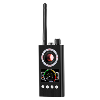 Detector de espionaje K68, Detector de insectos rf, detectores de cámara, señal WiFi, GPS, Radio, dispositivo de teléfono, buscador, protección privada