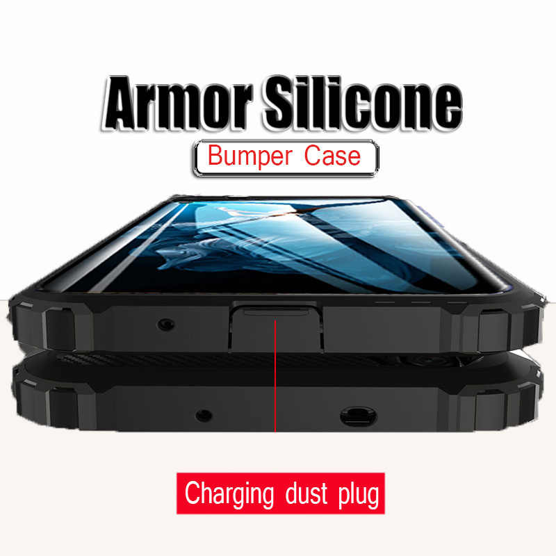 Armor Shockproof Luxury Bumper Case For Huawei Honor 20 Pro 7a 7c 8X 10i Silicone Phone Cases For Honor 10 9 Lite Soft Cover