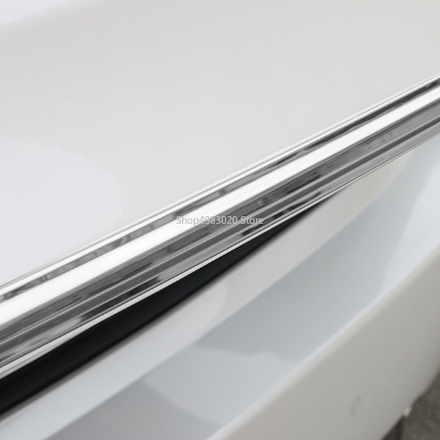 Accessoires en acier inoxydable Anti-rayure | Pour Lexus RX RX200t RX300 RX450h les garnitures de hayon de voiture, accessoires de moulage intérieur Anti-rayure