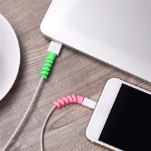 2pcs Protector Saver Cover for apple airpods accessories For Apple iPhone Android Charger Cable Cord
