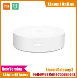 2019 New Xiaomi Mijia Multifunctional Gateway 2/3 new Hub Alarm System Intelligent Online Radio Night Light Bell Smart Home Hub