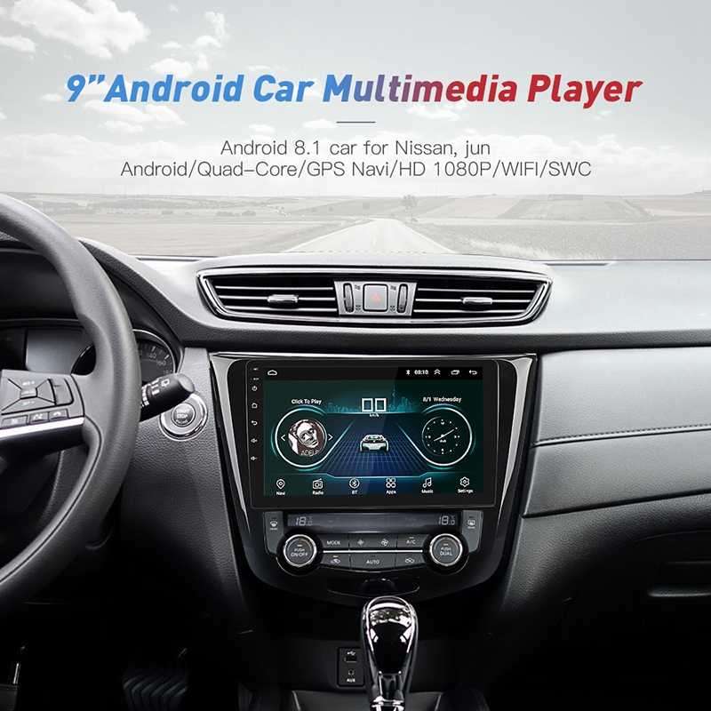 9 дюймов Android 8,1 gps-навигация Авторадио мультимедийный dvd-плеер Bluetooth wifi MirrorLink OBD2 Универсальный 2Din автомобильный радиоприемник для