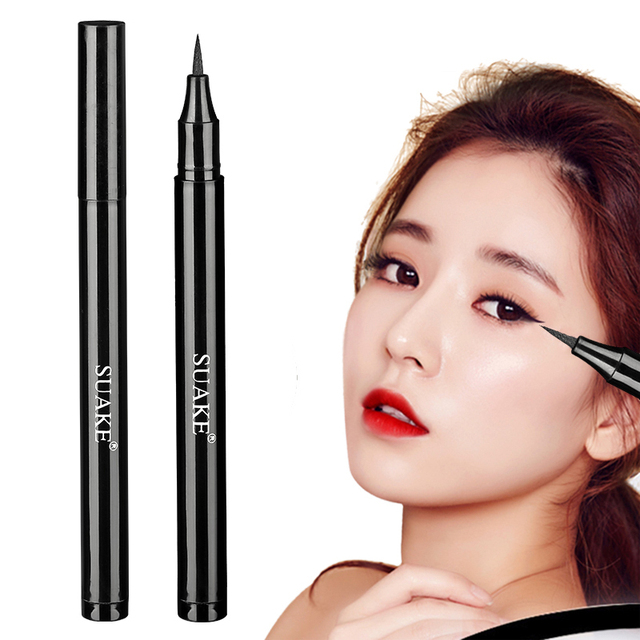 Liquid Eye Liner Pen Pencil Black Waterproof Lasting Anti-stain Not blooming Eyeliner Eye Makeup Beauty Cosmetic Tool New TSLM1