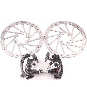 Image 3 - SHIMANO 105 R7000  2X11 speed TRP Disc Brak groupset Road bike bicycle  170 172.5mm TRP Mechanical falt mount or post mount Disc