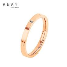 Mode Sansheng Sanshi anneau trois pièces femmes nouveau Simple plaine anneaux tempérament élégant luxe haut niveau sens givré anneau