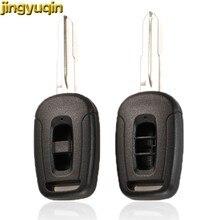Jingyuqin remplacement de la coque de clé de voiture à distance pour Chevrolet Captiva Fit Holden 5 7 lame de clé non coupée Fob 2/3 boutons