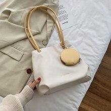 Korean Soft Handbags Beach Ladies Casual Large Capacity Handbags Minimalist Fashion Bolsos Para Mujer Leather Bags DE50ST
