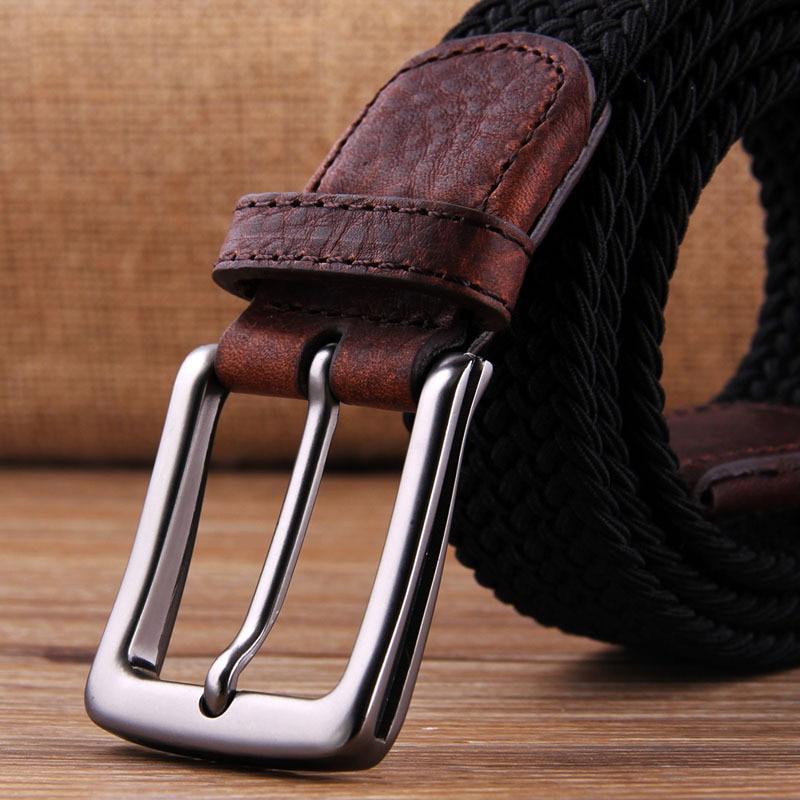 35mm Metal Pin Waistband Buckles Belt DIY Leather Craft Buckle Men's Solid Color Waistband Buckle Accessories