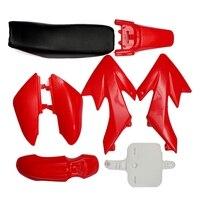 8Pcs 50Cc 110Cc 125Cc 140Cc Plastic 4 Stroke Crf50 Pit Off Road Bike Set Mudguard Seat   Motorcycle Motorcycle Diy Kits      -