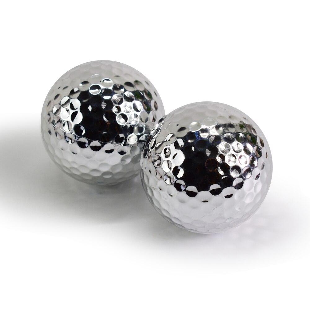Unikatne srebrne zlate žogice za golf za vadbene žoge za golf v - Golf - Fotografija 5