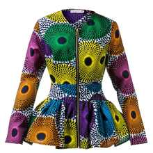 Женская одежда в африканском стиле с высокой талией