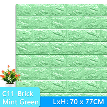 3D Wall Stickers Marble Brick Peel and Self-Adhesive Wall paper Waterproof DIY Kitchen Bathroom Home Wall Decal Sticker Vinyl 18