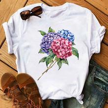 Летние корейские Стиль для женщин модная футболка размера плюс