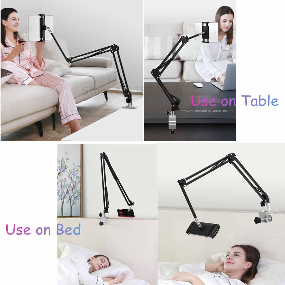 قرص حامل ذراع ، طاولة السرير جبل حامل 360 ° دوران قابل للتعديل الذراع 4-13 ''أقراص/الهاتف حامل الايباد المقوس الهواء البسيطة برو 12.9'