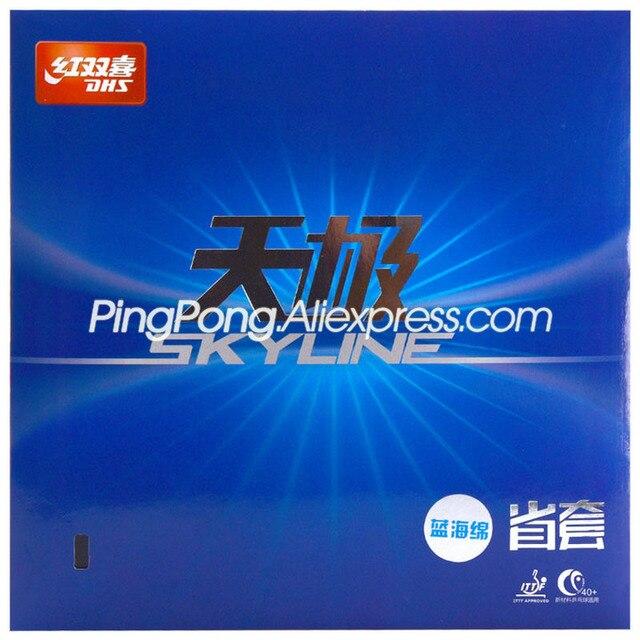 DHS Skyline 2 İl mavi sünger DHS TG2 mavi sünger mavi TG 2 masa tenisi kauçuk orijinal DHS Ping Pong sünger