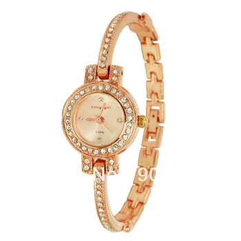 New Fashion Bangle Watches Women Luxury Rose Gold Watches Fashion Clock Watch King Girl Brand dames horloges montres femmes