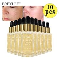 BREYLEE Retinol Lifting Firming Serum Whitening Moisturizing Facial Collagen Essence Remove Wrinkles Anti Aging 10pcs Skin Care