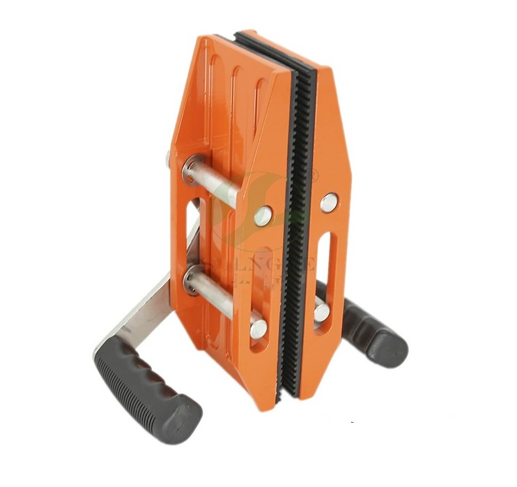 Double Handed Stone Slab Clamp Pair Granite Scissor Ceramic Plate Handling  Lifting Tool