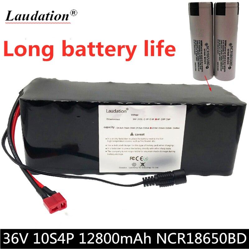 36V batterie 10S4P 12Ah 18650 lithium batterie 500W haute puissance batterie 42v vélo électrique scooter électrique BMS pour Xiaomi M365