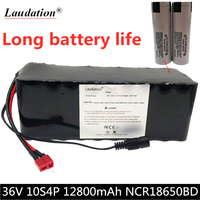 36V battery 10S4P 12Ah 18650 lithium battery 500W high power battery 42v electric bicycle electric scooter BMS for Xiaomi M365